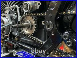 Zippers Gold Black Chain Conversion Kit Rear Front Sprocket Harley M8 Softail
